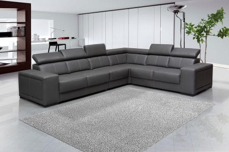 Interior in gray tones