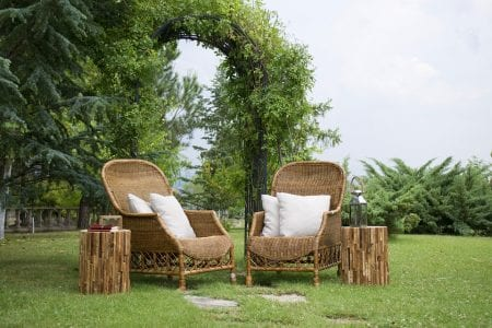 Clean your wicker furniture step by step
